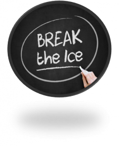 Break the Ice and Contact Us